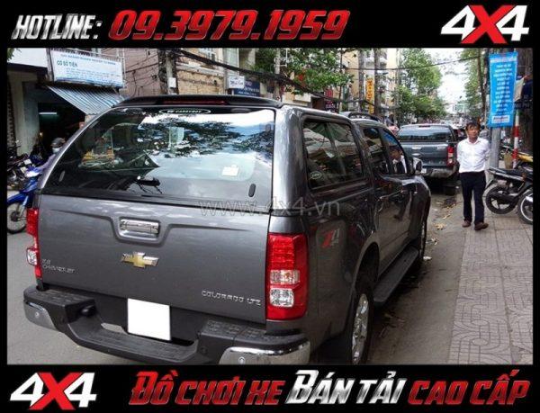 Hình ảnh: Nắp thùng cao CarryBoy Series 5 (S560) gắn đẹp giá rẻ dành cho xe bán tải tại Tp Hồ Chí Minh