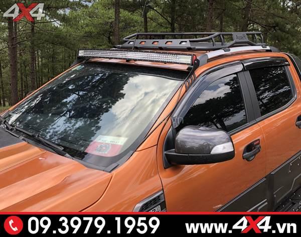 Đồ chơi xe Ford Ranger - Đèn led bar 8D độ đẹp và trợ sáng cực tốt