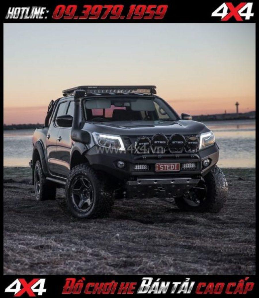 Image tăng sáng cho Ford Ranger 2018 2019: Led bar Stedi lắp đẹp và trợ sáng cực tốt cho xe pick-up Ford Ranger 2019