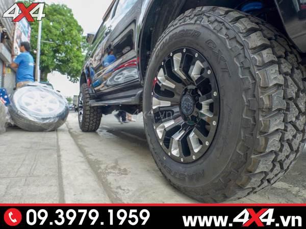 Đồ chơi xe Ford Ranger: Mâm Black Rhino Pinatubo độ đẹp và độc đáo cho xe bán tải Ford Ranger