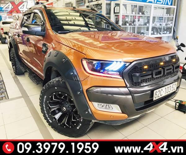 Đồ chơi xe Ford Ranger: Mâm Fuel Assault độ đẹp cho xe bán tải Ford Ranger được nhiều ngưởi yêu thích