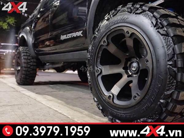 Đồ chơi xe Ford Ranger: Chiếc bán tải Ford Ranger độ mâm Fuel Beast đẹp cứng cáp và ngầu tại HCM