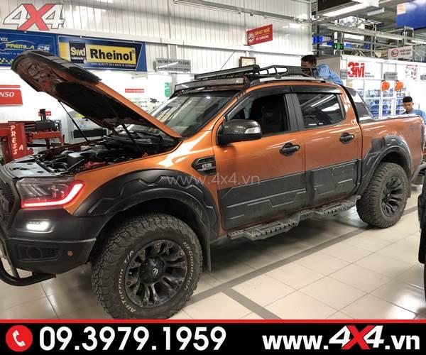 Đồ chơi xe Ford Ranger: Xe Ford Ranger độ cứng cáp với nhiều món đồ chơi và mâm Fuel Vapor