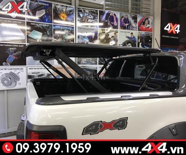 Đồ chơi xe Ford Ranger: Nắp thùng điện xe Ford Ranger CarryBoy GMX hoặc SMX thể thao và hầm hố