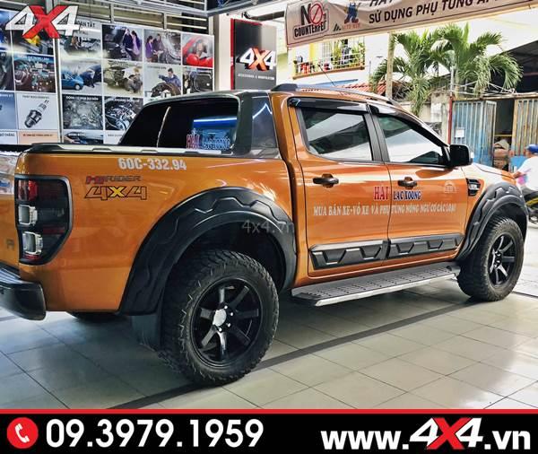 Ốp cua lốp Ranger răng cưa FITT độ đẹp và thể thao hơn cho xe bán tải