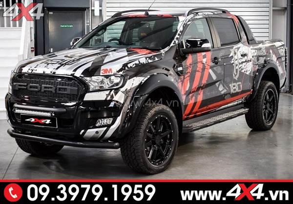 Đồ chơi xe Ranger: Mẫu tem độ cực độc và đẹp dành cho xe bán tải Ford Ranger