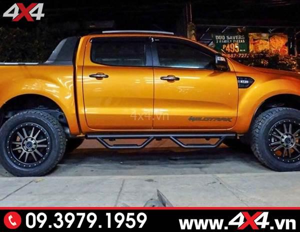 Bậc bước chân Ford Ranger Thái Lan độ tiện lợi và trang trí đẹp cho xe Ford Ranger