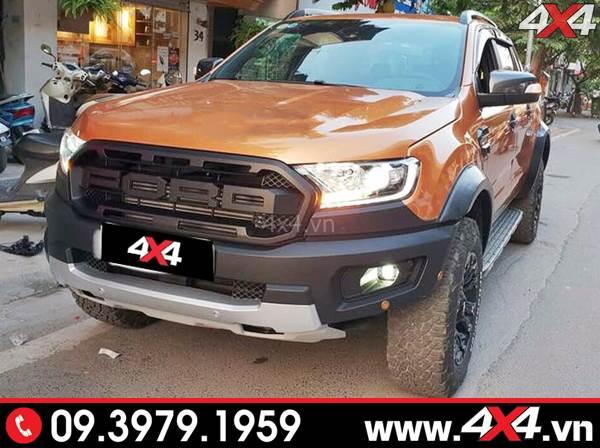 Bán tải Ford Ranger XLT, XLS, Wildtrak độ lên đời thành Ranger Raptor 2018 2019