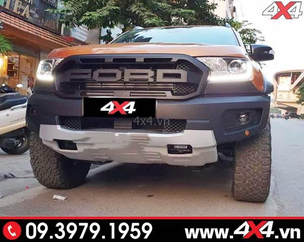 Bộ body kit Ranger Raptor độ đẹp và hầm hố cho xe bán tải Ford Ranger XLS, XLT, Wildtrak