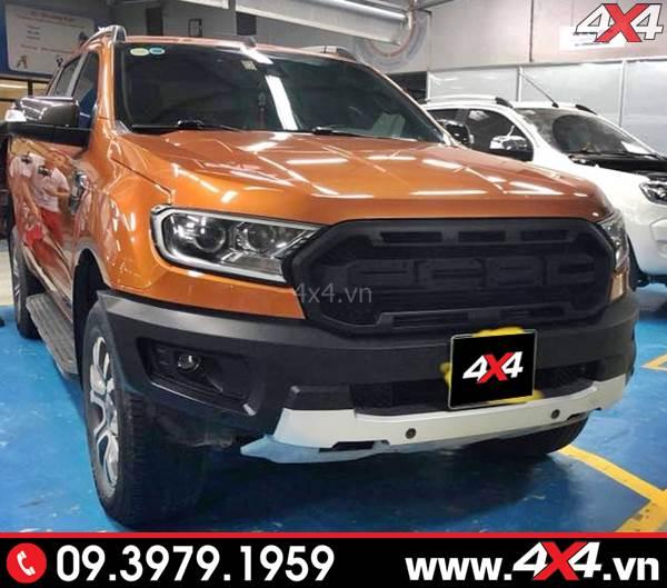Độ Body kit Ranger Raptor đẹp và hầm hố cho xe bán tải XLT, XLS, Wildtrak
