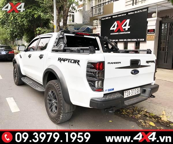 Chiếc bán tải Ford Ranger Raptor độ thanh thể thao Cantech ngầu và đẹp
