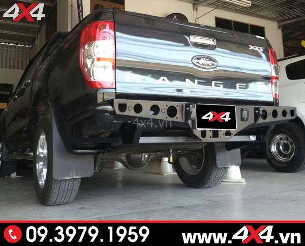 Độ Cản sau Ranger độ: Chiếc bán tải Ford Ranger độ cản sau đẹp, hầm hố và cứng cáp