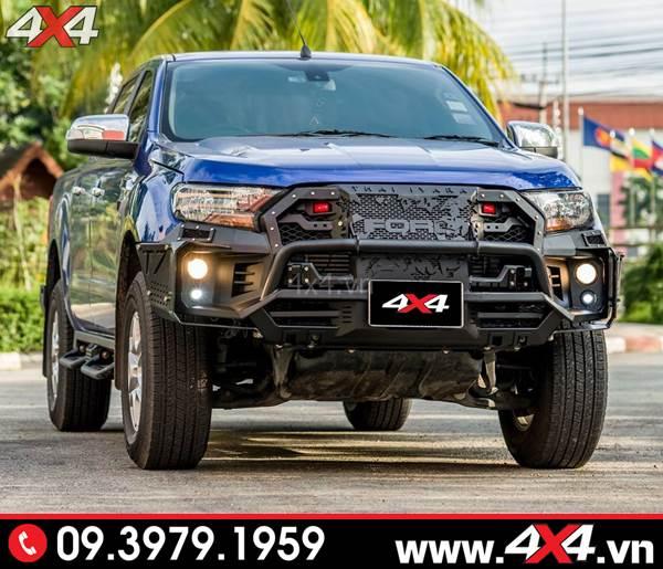 Cản trước độ Ford Ranger: Cản trước Super Open N độ đẹp và chất cho xe bán tải