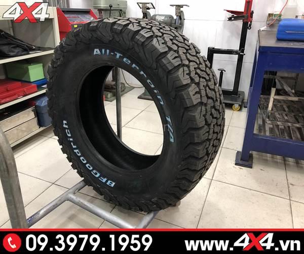 Lốp xe Ford Ranger độ: Lốp AT All-Terrain BFGoodrich độ tiện dụng và hầm hố cho xe bán tải