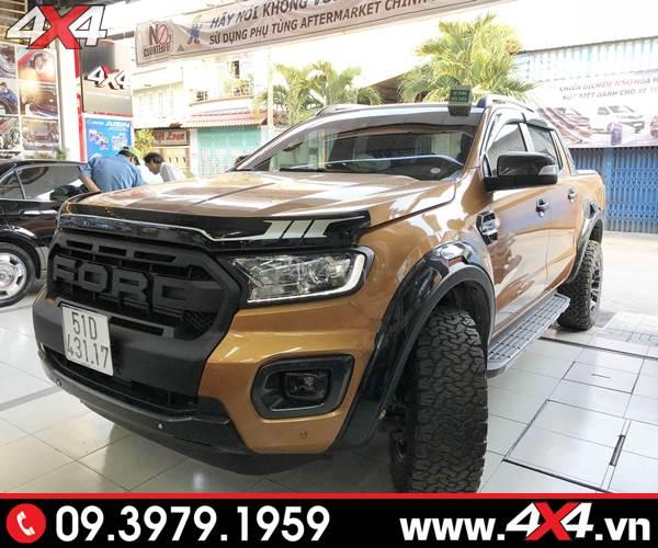 Lốp xe Ford Ranger độ: Độ lốp BFGoodrich All-Terrain giúp bạn tự tin hơn trên mọi nẻo đường