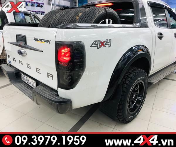 Ốp viền cua lốp Ford Ranger FITT Thái Lan loại trơn độ đẹp và cứng cáp cho xe Ford Ranger