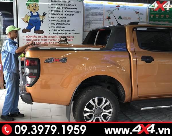 Khung thể thao Ford Ranger Wildtrak gắn đẹp và cứng cáp cho xe bán tải Ford Ranger XLT, XLS, Raptor 2018 2019
