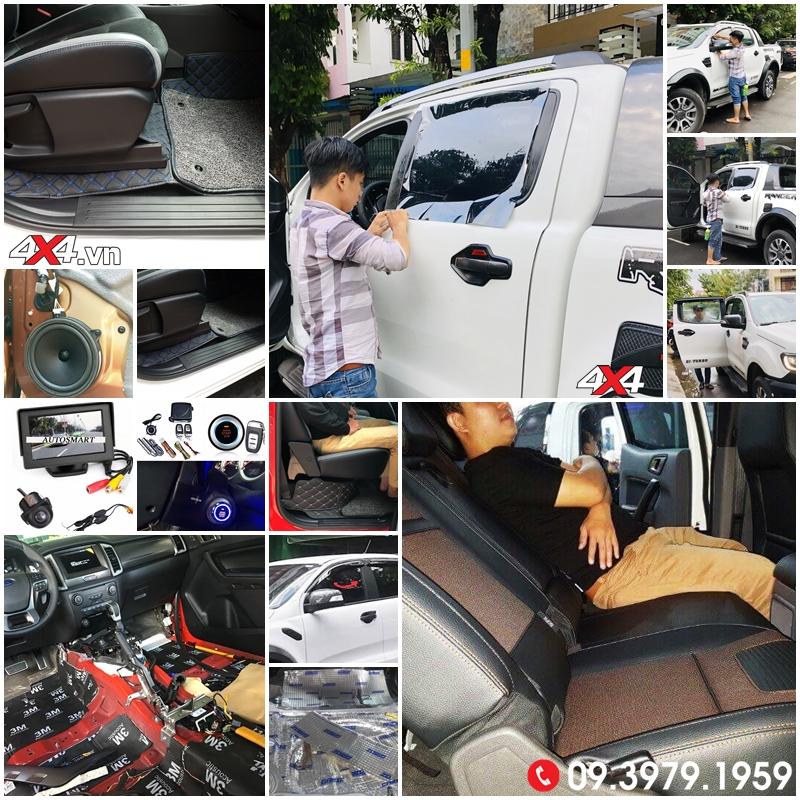 Nội thất cho xe bán tải Ford Ranger và các sản phẩm tiện nghi