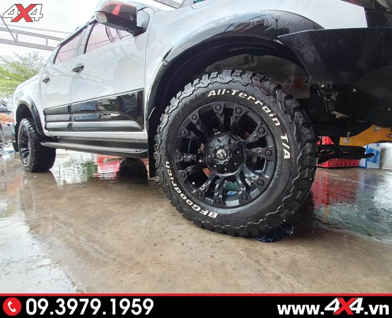 Lốp BF Goodrich và mâm Fuel Vapor: bộ đôi cứng cáp độ đẹp dành cho bán tải Chevrolet Colorado