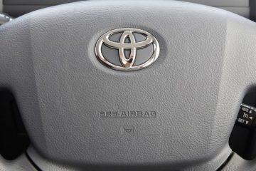 Toyota rechemare service airbag