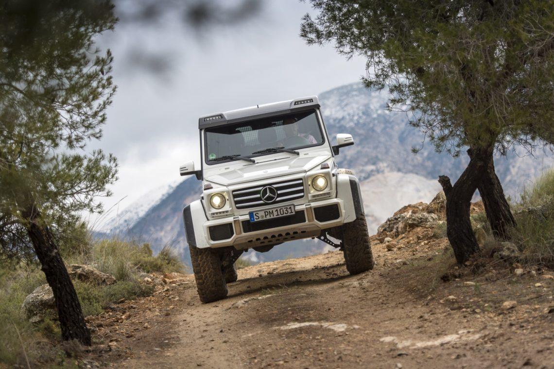 Mercedes Benz G 500 4x4 Die Ultimative G Klasse