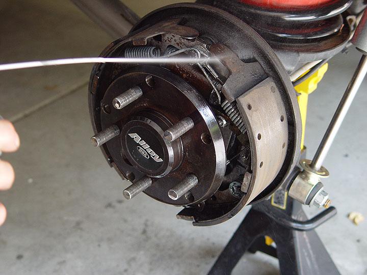Jeep Rear Drum Brake Remove