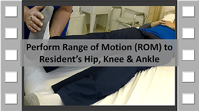 ROM Hip, Knee & Ankle