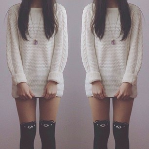 Must-have White Sweater