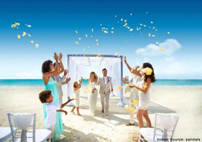 Bahamas beach wedding destination