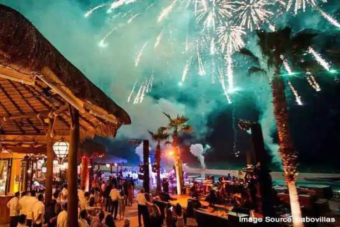 New Year eve in Mexico