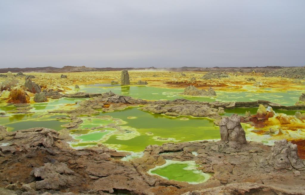 Äthiopien - Timkat-Fest, Simien Mountains, Danakil-Wüste, Dallol  und Vulkan Erta Ale