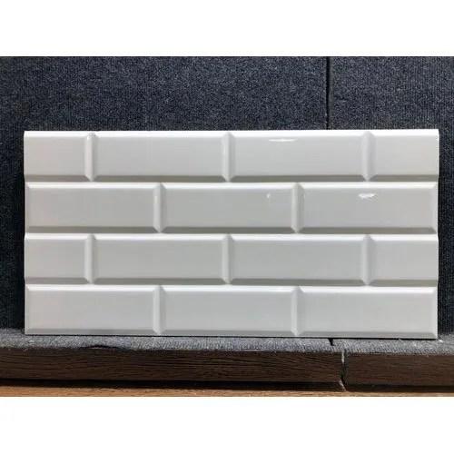 white subway ceramic tile