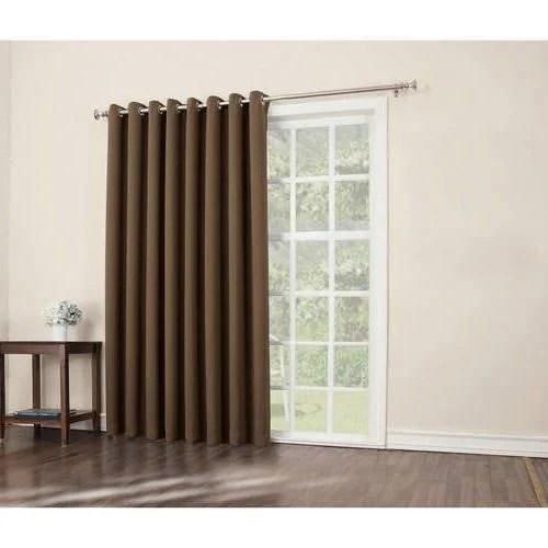 blackout single door curtain