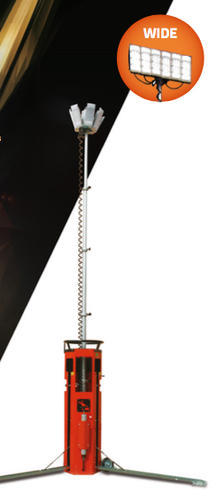 emergency lighting and accessories portable emergency lighting system tower type with battery bank