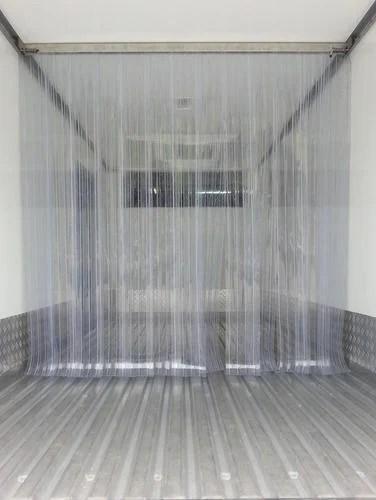 plastic strip door curtain