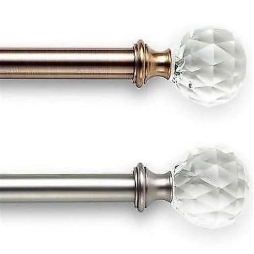diamond curtain rod