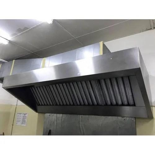 commercial kitchen chimney hood