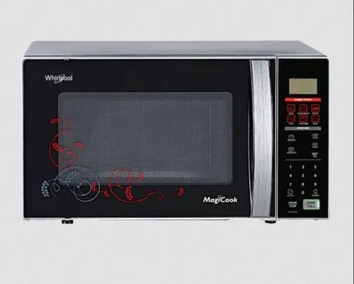 whirlpool magicook 20l classic solo black microwave oven