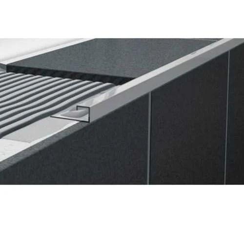 aluminium square edge tile trim