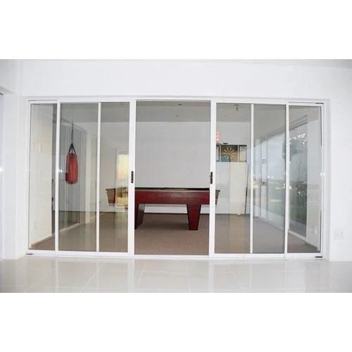 4 panel sliding aluminium door