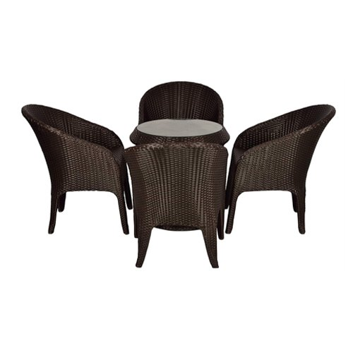outdoor patio furniture 4 chairs and table set