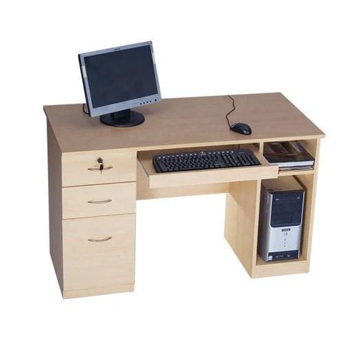 3 Drawer Wooden Computer Desk With Storage Rs 13000 Piece Vishal Furniture Id 19255472155