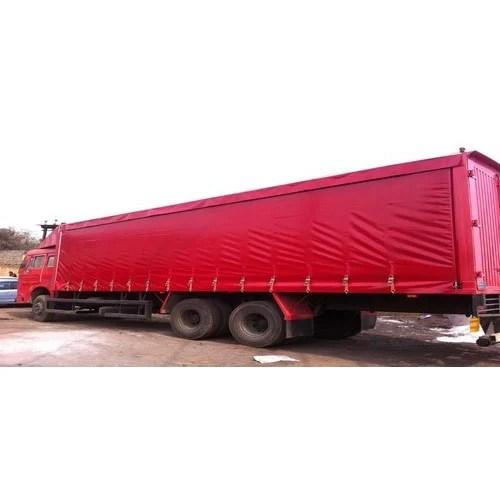 curtain side trailer side loader