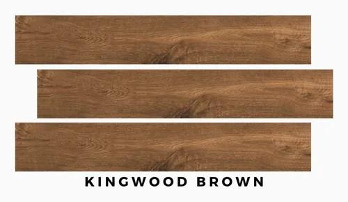kingwood brown wooden floor tile