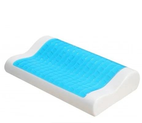 memory foam big gel pillow