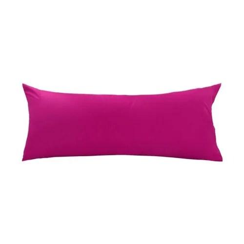 cotton plain body pillow cover