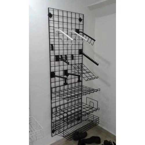 wire grid display rack