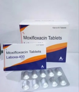 Laboxa-400 Moxifloxacin 400mg Tablet, Packaging Size: 10*1*10 Alu ...