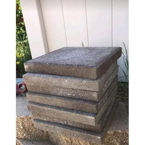 grey concrete stone square gray