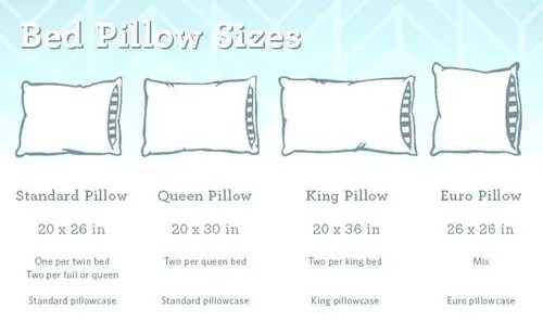 bed pillow and cushion